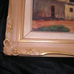 Frame repainted to its former state.