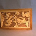 "Walnut and basswood. Carved by hand. 17""x10.25"" (FOR SALE)"